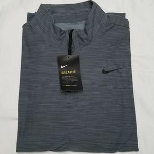 NWT Nike Mens DRI Fit Golf 1/4 Zip Shirt Small